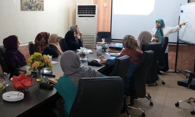 انتقال تجربه طرح توسعه جامعه محلی بنیاد توسعه کارآفرینی زنان و جوانان به تسهیلگران موسسه بهار خرمشهر